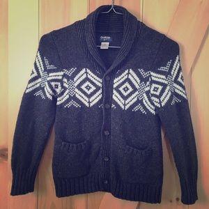 OshKosh Wool Cardigan size 6